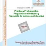 Máster Universitario en Formación del Profesorado de Educación Secundaria Obligatoria, Bachillerato y Formación Profesional