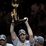 ¡Pau Gasol, campeón de la NBA con Los Lakers!