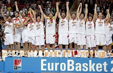 Selección Española Eurobasket Polonia 2009