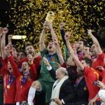 España, Campeona del Mundo de fútbol en Sudáfrica