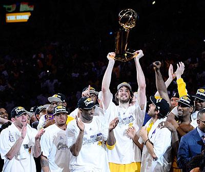 Pau Gasol campeón NBA 2010