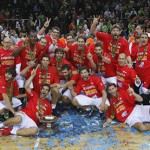 ¡La Selección Española de Baloncesto Campeona de Europa en Lituania 2011!