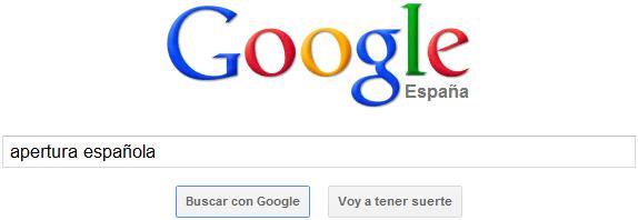 Google Búsqueda simple