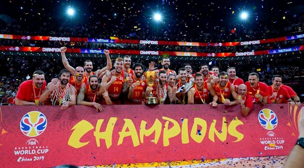 ¡España gana el Campeonato del Mundo de Baloncesto 2019!