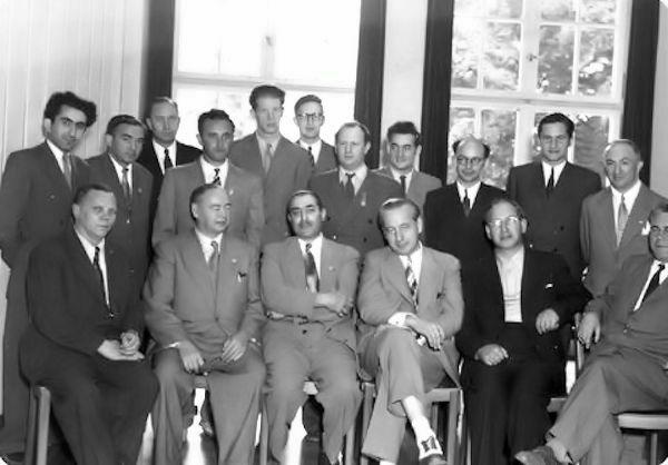 Zúrich 1953, participantes y jueces