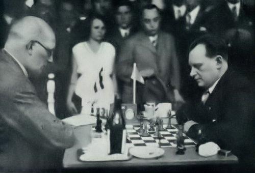 Alekhine-Günfled, Viena 1922
