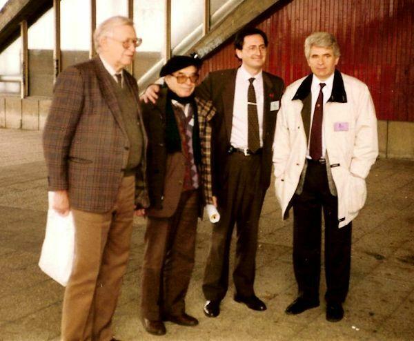 Smyslov, Bronstein, Antonio Arias y Spassky