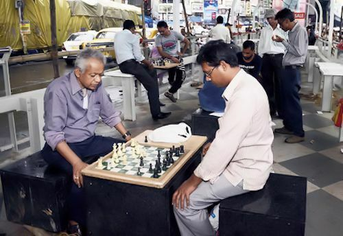 'Gariahat Chess Club' en Calcuta