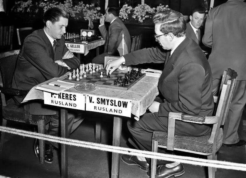 Keres-Smyslov, tres años después en Ámsterdam 1956