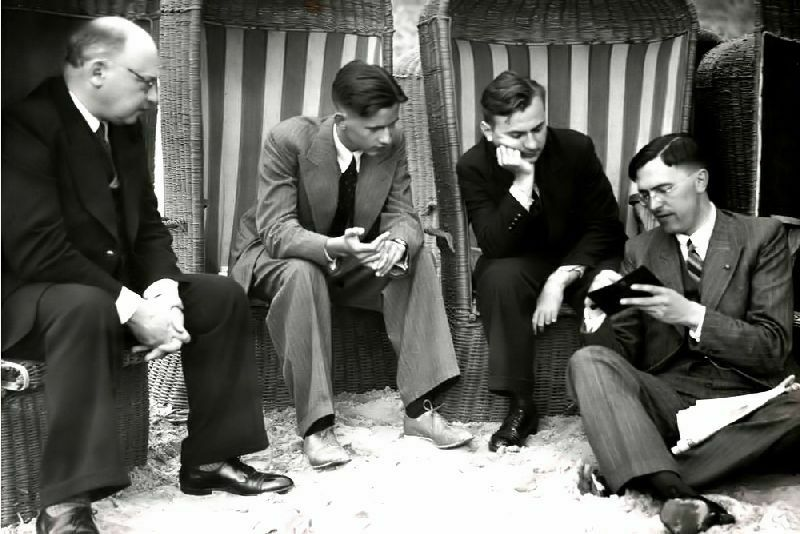 Playa de Scheveningen (Holanda), 1948: Tarkakower, Keres, Fine y Euwe