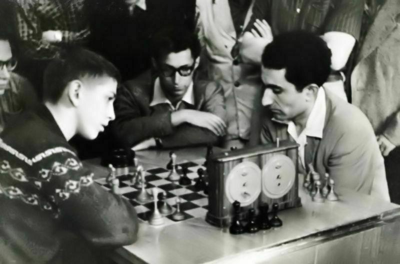 1958 Moscú. Fischer-Petrosián blitz