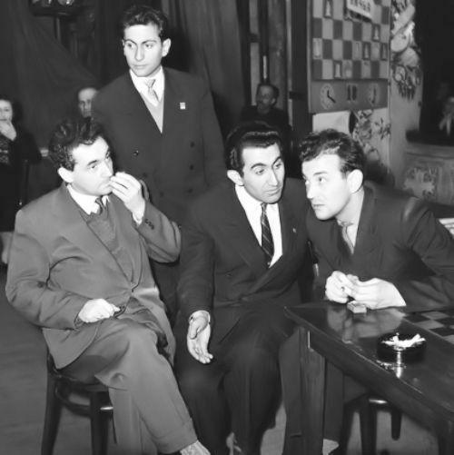 1959 Campeonato de la URSS (Moscú). Taimánov, Tal, Petrosián y Korchnoi