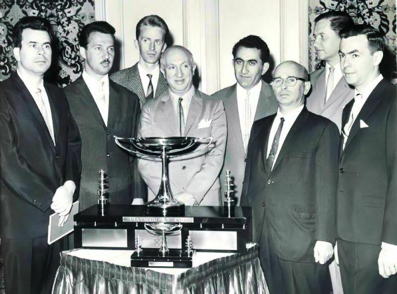 1963 I Copa Piatigorsky (Los Ángeles). Foto participantes