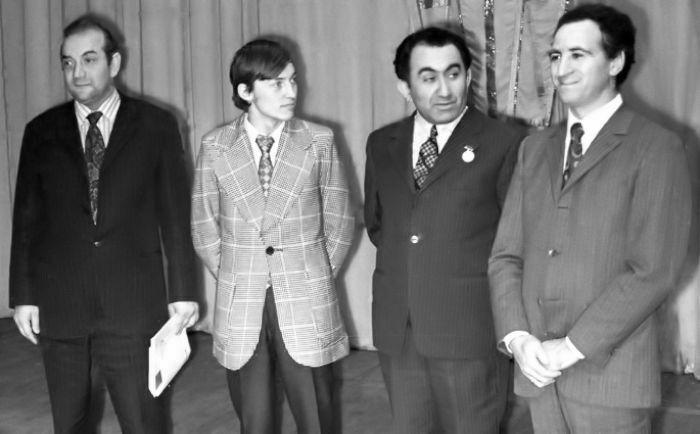 XLI Campeonato de la URSS. Korchnoi, Kárpov, Petrosián y Polugaevsky
