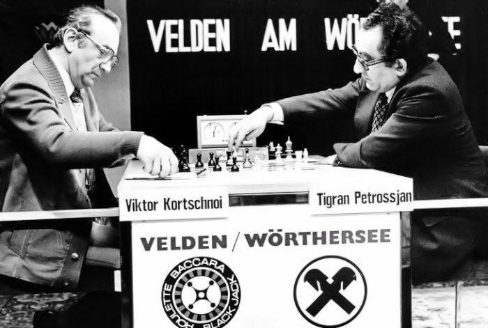 1980 Cuartos de Final del Candidatos. Korchnoi-Petrosián