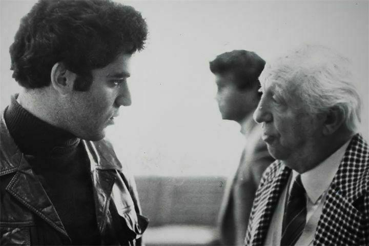 Kasparov charlando con Najdorf