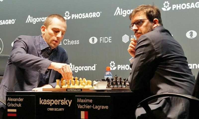 Grischuk-Vachier, FIDE Grand Prix Hamburgo, 2ª partida semifinales, 12-11-2019