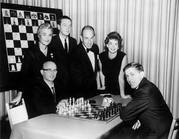 Match Reshevsky-Fischer, 1961