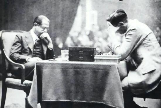 Match contra Capablanca, 1931.