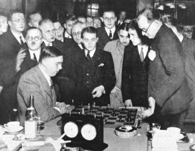 Match contra Alekhine, 1935.