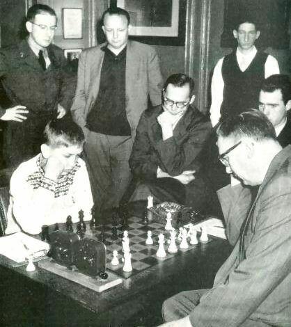 Euwe-Fischer, 1957