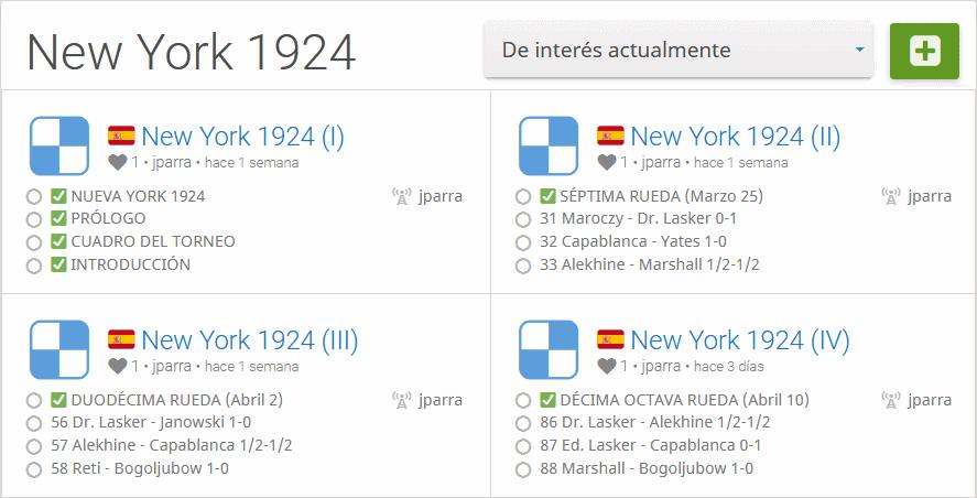 Estudios Torneo Nueva Toek 1924