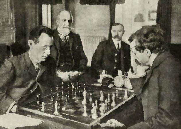 Janowski-Lásker 1909