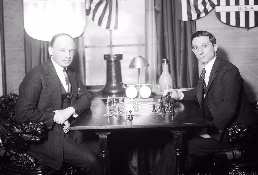 Nueva York 1924, Tartakówer-Edward Lásker