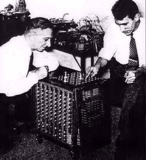 1950, Lásker y Shannon en el MIT