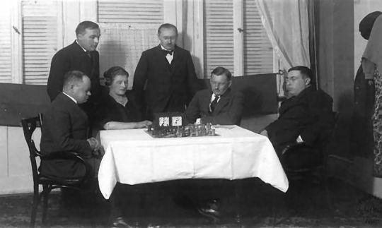Triberg 1921. Spielmann, Alekhine, Rubinstein, Bogoljubow, Selezniev