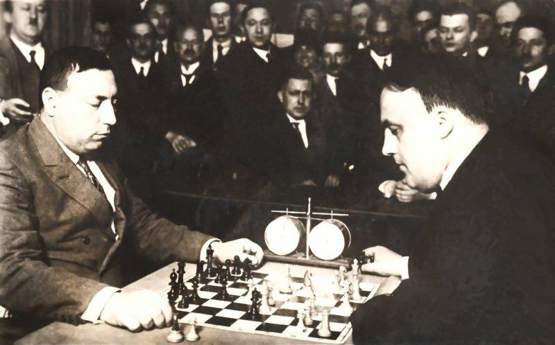 Berlín 1926. Bogoljubow-Rubinstein