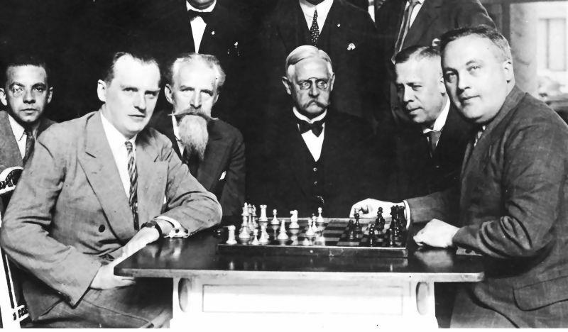 Match 1929. Alekhine-Bogoljubow