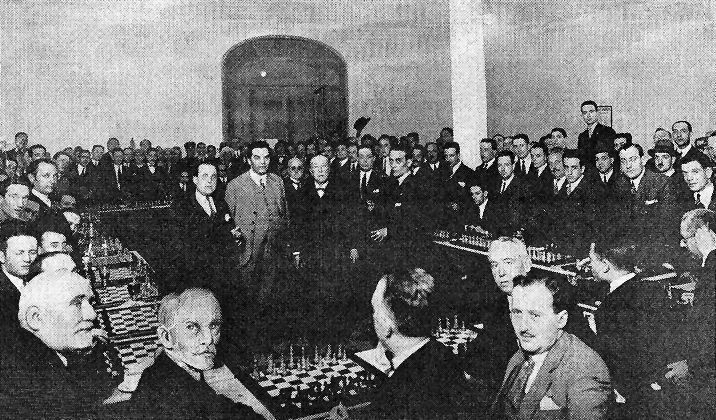 Simultáneas Réti Barcelona 1927